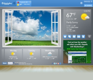 After: The New WeatherBug for Google Chrome