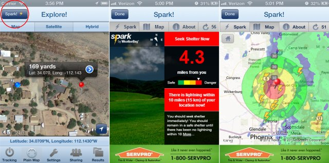 WeatherBug Mobile Lightning Widget Debuts