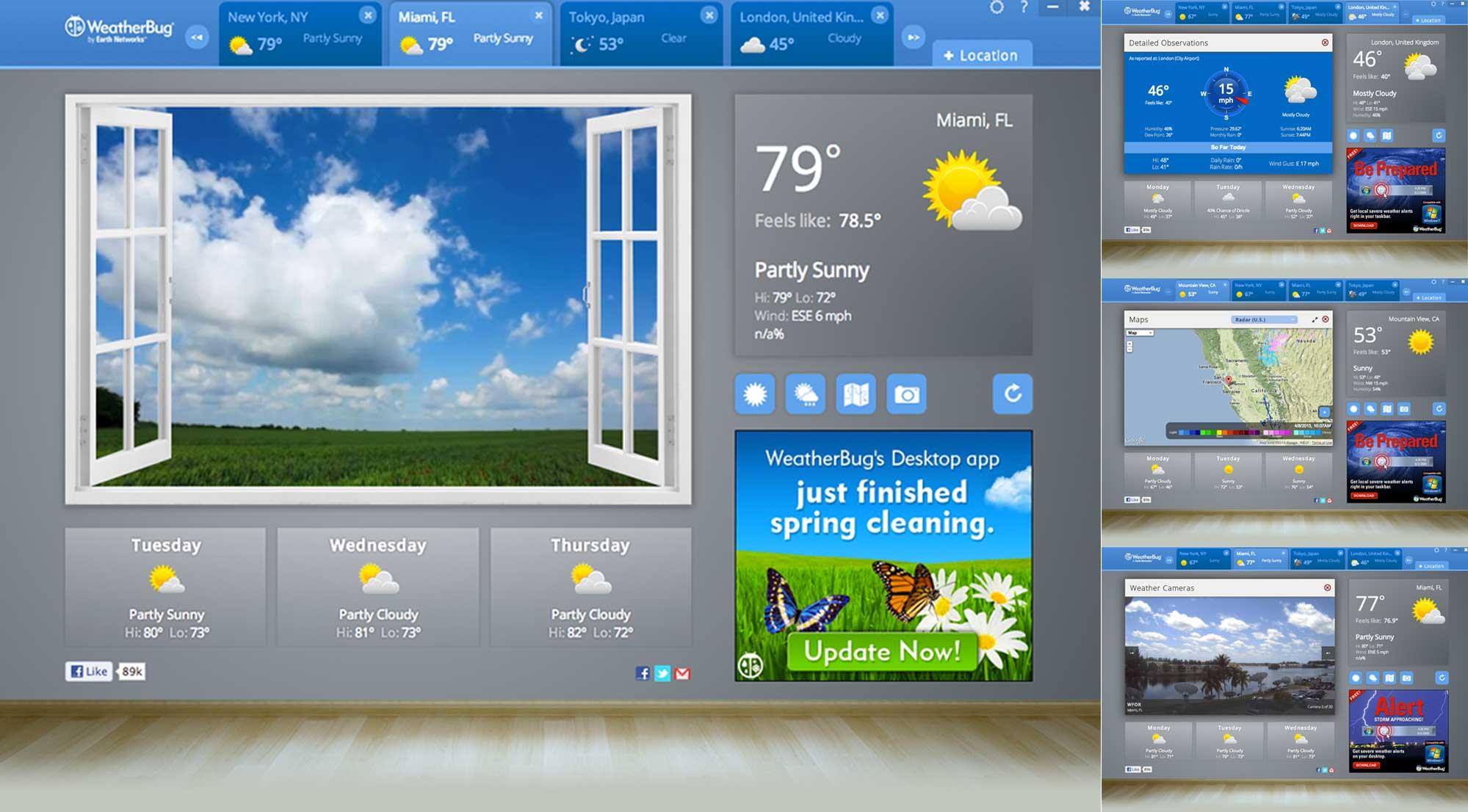 WeatherBug Debuts on Google Chrome's New Platform   Earth