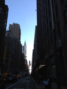 Earth Networks' CMO Amena Ali took this photo of NYC prior to attending the CGI Mid-Year Meeting.