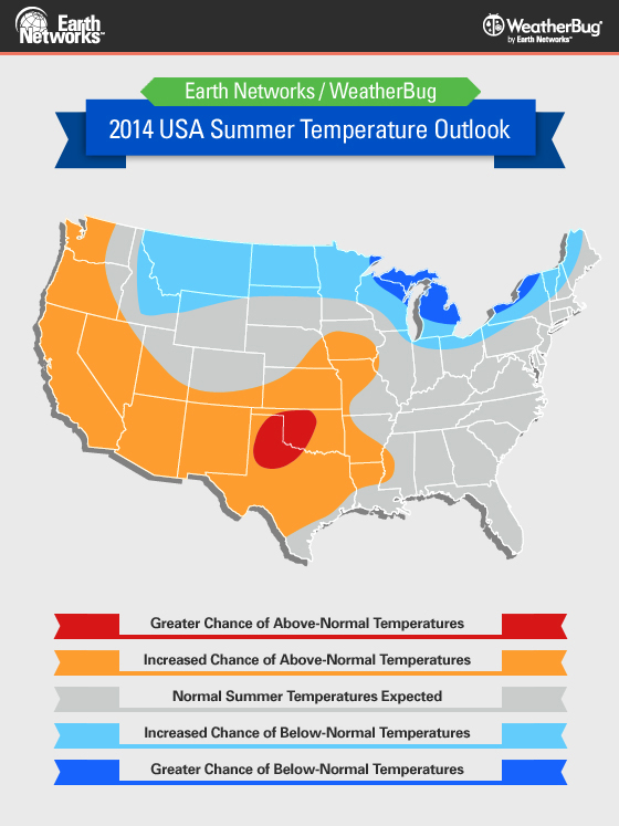 The 2014 Summer Weather Outlook from the Meteorology Team and Earth Networks - WeatherBug